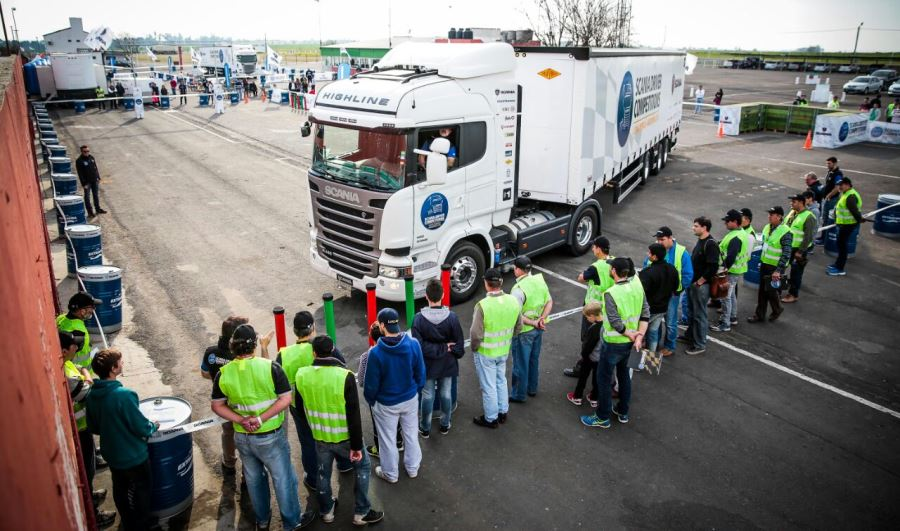 scania-driver-competitions-paraná